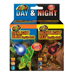 Zoo Med Day/Night Reptile Bulb Combo (DB-60E & NR-60E)