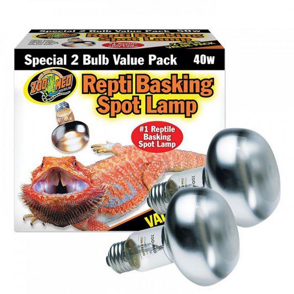 ZooMed Repti napozó Spot lámpa Value Pack (2 részes) 40 W