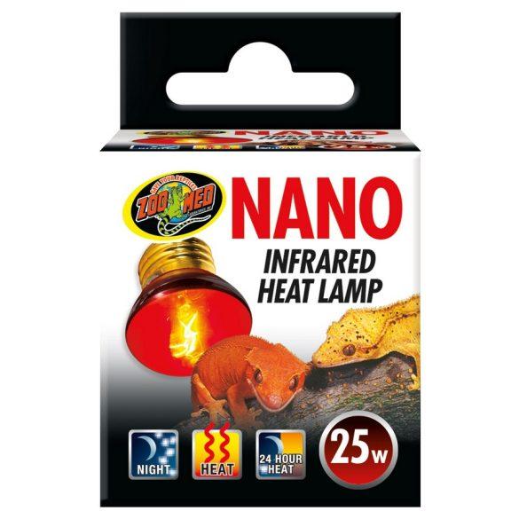 ZooMed Nano Infrared infravörös terrárium melegítő lámpa 25 W