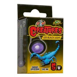 ZooMed Creatures™ LED Black lámpa skorpiókhoz