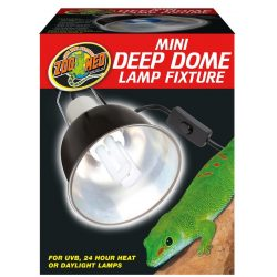 Zoo Med Mini Deep Dome lámpatest