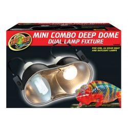 Zoo Med Mini Combo Deep Dome lámpatest