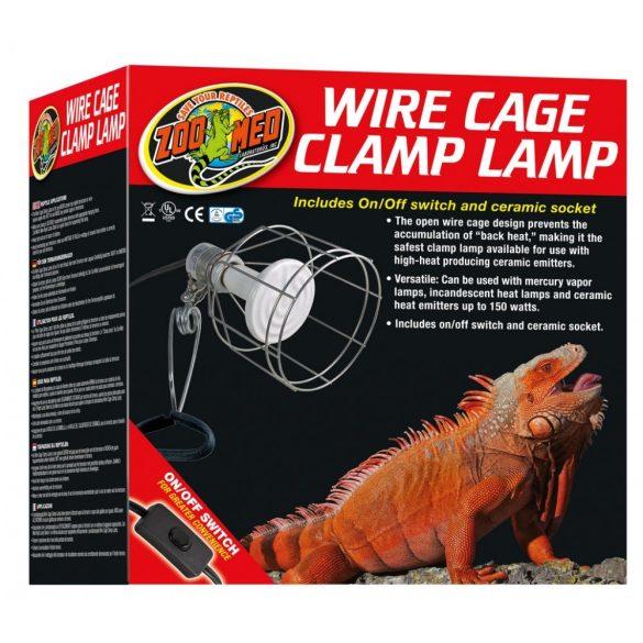 ZooMed Wire Cage LF-10 szorítós lámpatest (max 150w)