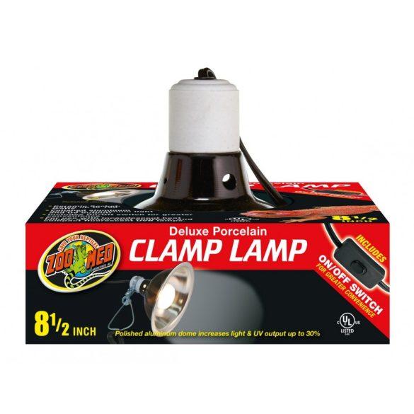 ZooMed LF-12 porcelán lámpabúra csíptetős rögzítővel  (max 150w)