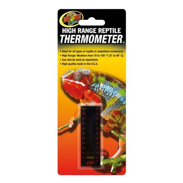 ZooMed High Range Reptile terrárium hőmérő