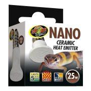 ZooMed Nano Ceramic Heat Emitter, infravörös tartományú terrárium melegítő izzó 25W
