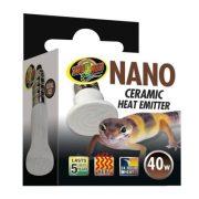 ZooMed Nano Ceramic Heat Emitter, infravörös tartományú terrárium melegítő izzó 40 W