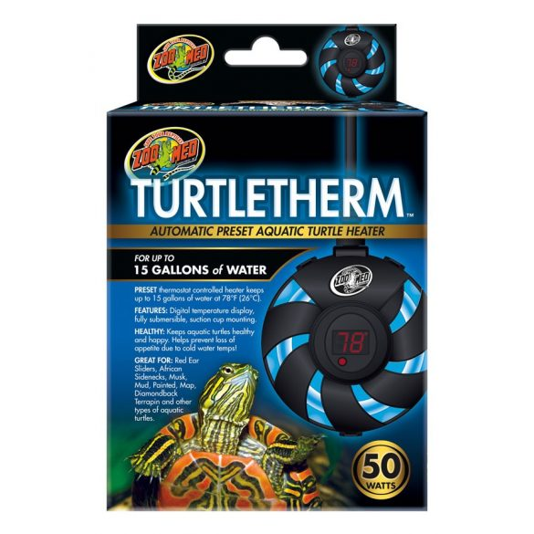 ZooMed TurtleTherm™ szabályozható fűtő vízi teknősöknek