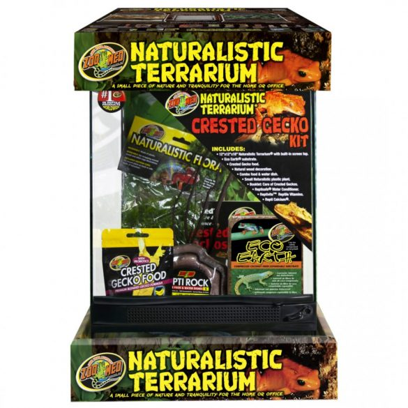 Zoo Med Naturalistic Terrarium® Crested Gecko Kit 30 x 30 x 45 cm
