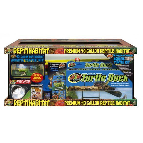 ZooMed ReptiHabitat Terrarium (vízi teknős készlet)