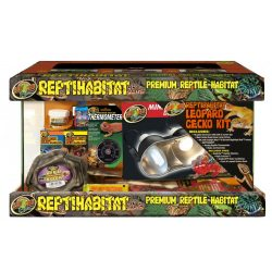 ZooMed ReptiHabitat™ terrárium leopárd gekkó felszerelés csomag 51 x 25 x 30 cm