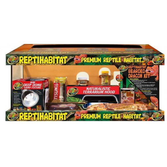 ZooMed ReptiHabitat Bearded Dragon Kit - With Terrarium 76 x 30 x 30 cm