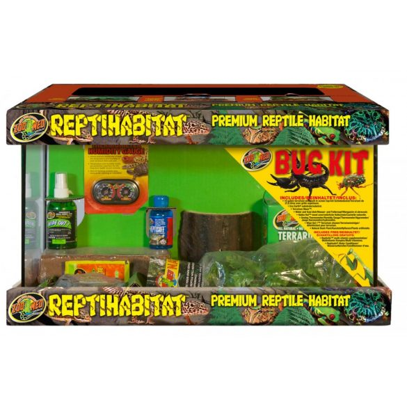 ZooMed ReptiHabitat™ Insect/Bug Kit - With Terrarium 51 x 25 x 30 cm