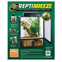 Zoo Med ReptiBreeze Alum Screen Cage 40 x 40 x 50 cm