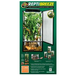 Zoo Med ReptiBreeze Alum Screen Cage 61 x 61 x 122 cm