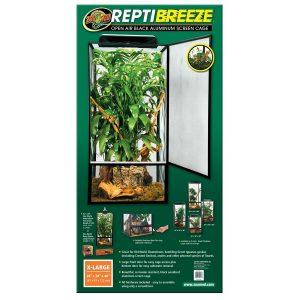 Zoo Med ReptiBreeze Alum Screen Cage 61 x 61 x 122 cm