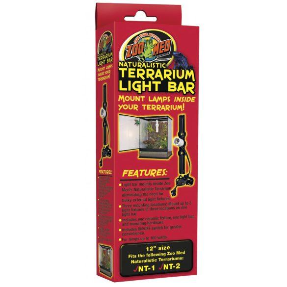 ZooMed Naturalistic Terrrarium Light Bar 30 cm