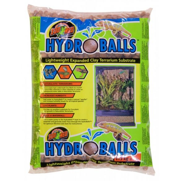 ZooMed HydroBalls Expanded Clay Substrate