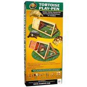 Zoo Med Tortoise Play Pen - kültéri lakóhely, napozó - 101,6 x 50,8 x 43,2 cm