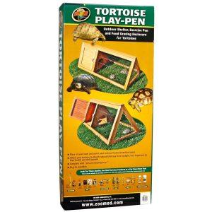 ZooMed Tortoise Play Pen - kültéri lakóhely, napozó - 101,6 x 50,8 x 43,2 cm