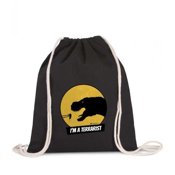 Tornazsák T-rex terrarista