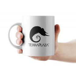 TerraPlaza simple logo bögre
